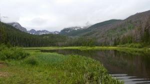 The elusive hidden mountain lake. We finally found it.